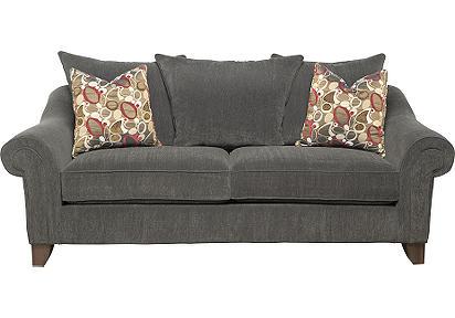 conrad grey brown sofa rooms to go